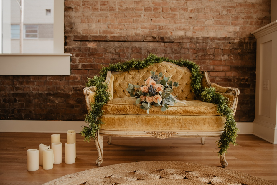Shabby Chic Sofa   Simply Stunning Styled Shoots for your Wedding Venue    Zoe Binning Ltd. Wedding Venue Business Manager & Welsh Wedding Consultant